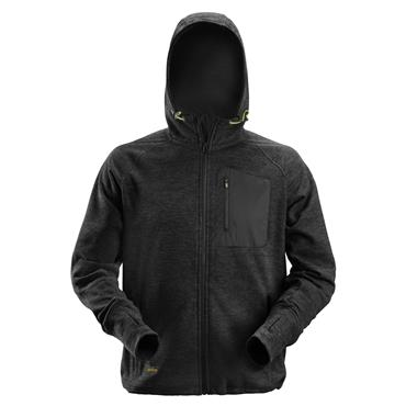 Snickers 8041 FlexiWork Fleece Hoodie - Black