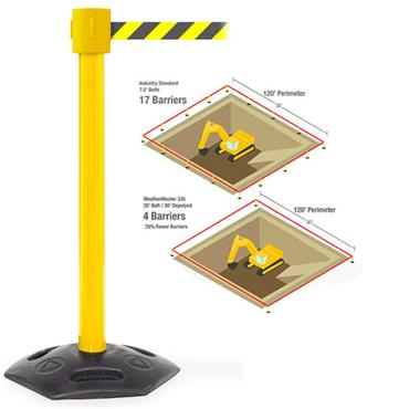 QUEUE WeatherMaster 335 10.6M Retractable Barrier