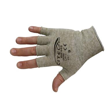 CItec Pro BE508 ESD Finglerless Glove Liner Size 9