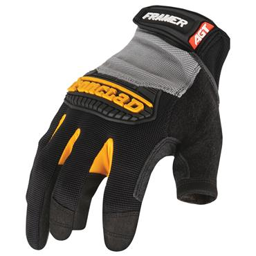 Ironclad FUG Black Framer Fingerless Dexterity Gloves