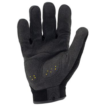 Ironclad IEX-MIG Black Impact Resistant Touchscreen Gloves