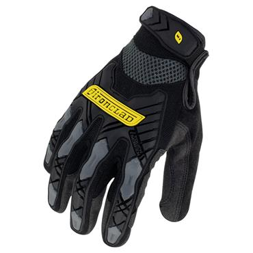 Ironclad IEX-MIG Black Impact Resistant Touchscreen Gloves