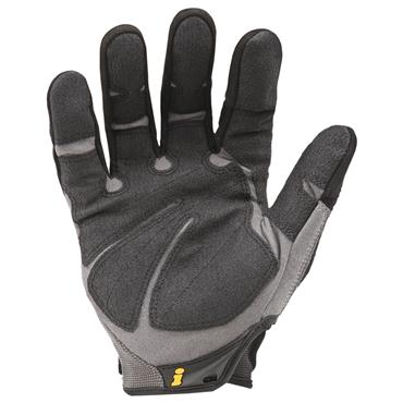 Ironclad HUG Black/Grey Heavy Utility Abrasion Protection Gloves