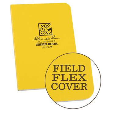 Rite in the Rain 374-M Yellow All-Weather Universal Memo Notebook