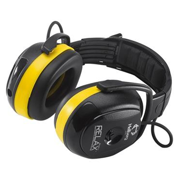 Hellberg 45002-001 Secure Relax 2H Headband AM/FM Radio Ear Defender
