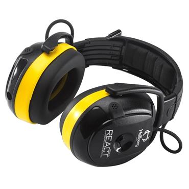 Hellberg 46002-001 React Headband AM/FM Radio Ear Defender