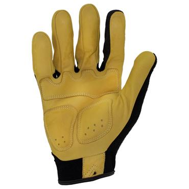 Ironclad IEX-MIGL Black/Yellow Impact Leather Gloves