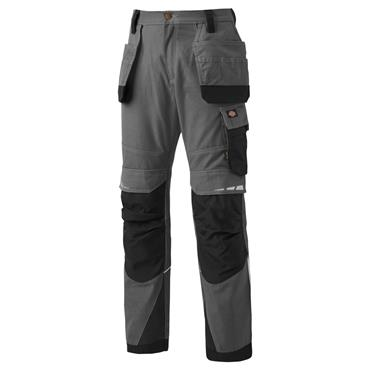 Dickies DP1005 Pro Holster Work Trousers - Grey/Black