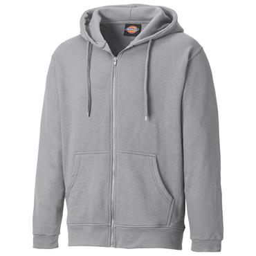 Dickies SH11500 Redwood Zip Through Hoodie - Grey Melange