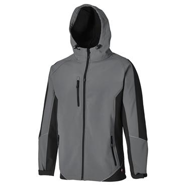 Dickies JW7017 Wakefield Reflective Jacket - Grey/Black