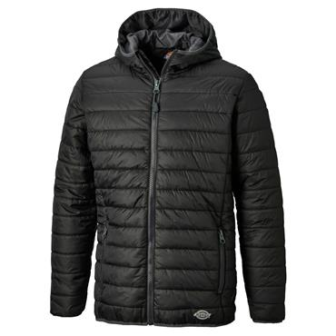 Dickies DT7024 22 Stamford Puffer Jacket - Black/Grey