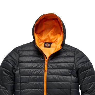 Dickies DT7024 22 Stamford Puffer Jacket - Grey/Orange