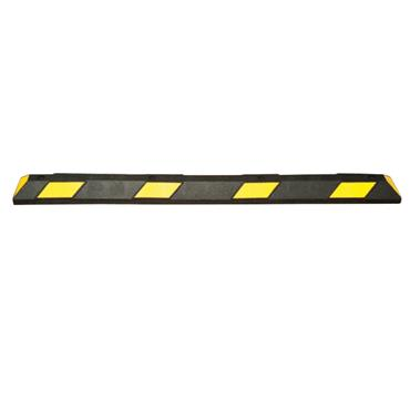 Moravia 284.2 Traffic-Line Black/Yellow Park-It Wheel Stop with Fixings