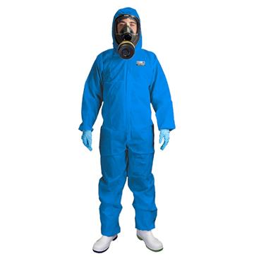 Chemsplash 2503 Xtreme SMS50  AS Anti-Static Coverall  Type 5/6 Blue