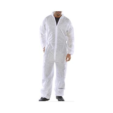 Poly Prop Disposable Boilersuit White