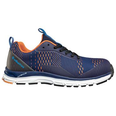 ABATROS AER55 Impulse Low S1P ESD Blue/Orange Safety Trainers