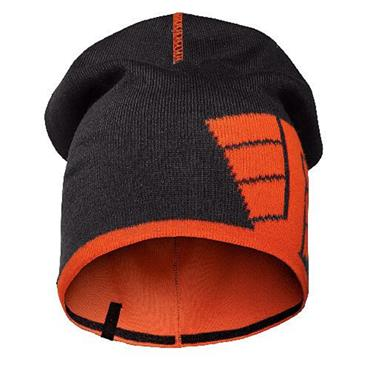 Snickers 9015 Navy/Orange - 5158 Reversible Beanie One Size
