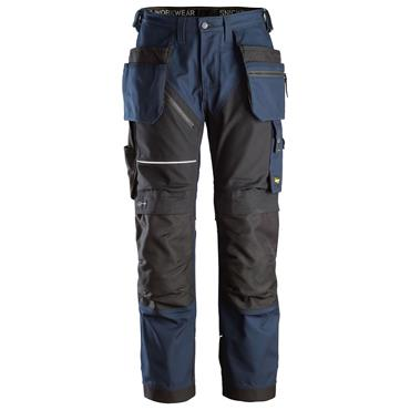 SNICKERS WORKWEAR Snickers 6214 RuffWork Canvas Work Trousers Navy/Black