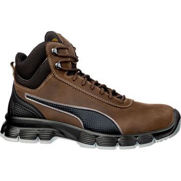 Puma Condor Mid S3 ESD SRC Brown/Black Safety Boots