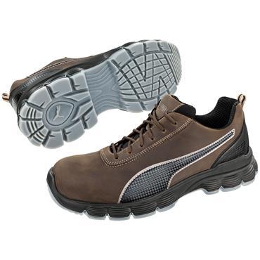 Puma Condor Low S3 ESD Black/Brown Safety Shoes