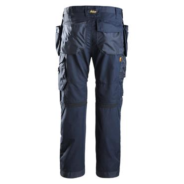 Snickers 6201 AllroundWork Holster Pockets Work Trousers - Navy