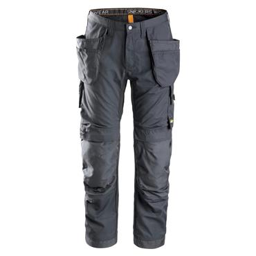 Snickers 6201 AllroundWork Holster Pockets Work Trousers - Steel Grey