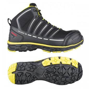 Snickers ToeGuard Jumper S3 Black Safety Boots