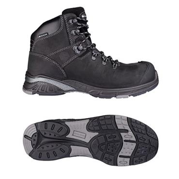 Snickers TG80430 Toe Guard Nitro S3 Black Safety Boots