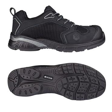 Snickers TG80410 Toe Guard Runner S1 Black Safety Trainers