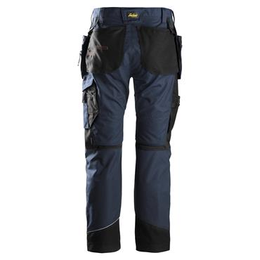 Snickers 6202 RuffWork Holster Pockets Work Trousers - Navy/Black