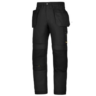 Snickers 6201 AllroundWork Holster Pockets Work Trousers - Black