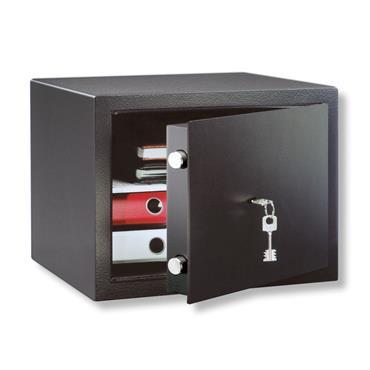 Burg H4S Black Free-Standing Keyed Home Safe Lock - 45 Litre