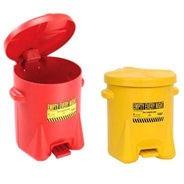 Eagle Polyethylene Oily Waste Cans 6 gal/22.8L