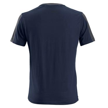 Snickers 2518 AllroundWork T-Shirt - Navy/Steel Grey
