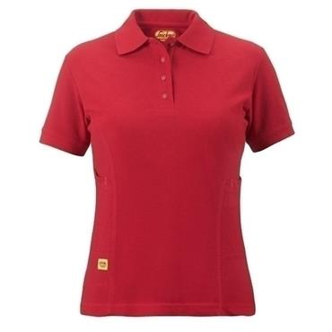 Snickers 2709 Ladies Polo Shirt - Red