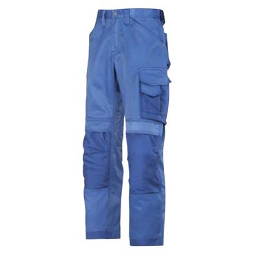 Snickers 3312 Craftsmen Trousers, DuraTwill - Blue