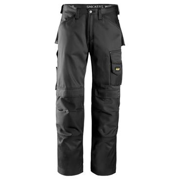Snickers 3312 Craftsmen Trousers, DuraTwill - Black