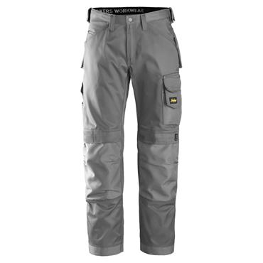 Snickers 3312 Craftsmen Trousers, DuraTwill - Grey