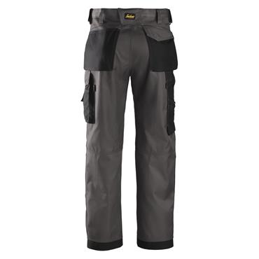 Snickers 3312 Craftsmen Trousers, DuraTwill - Muted Black/Black