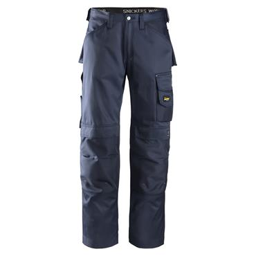Snickers 3312 Craftsmen Trousers, DuraTwill - Navy