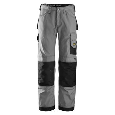 Snickers 3313 Rip-Stop Craftsmen Trousers - Grey/Black