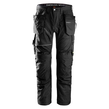 Snickers 6202 RuffWork Holster Pockets Work Trousers - Black