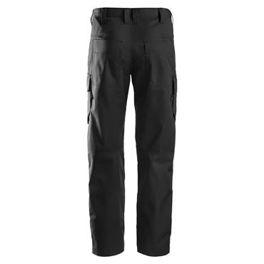 Snickers 6801 Knee Pockets Service Line Trousers - Black