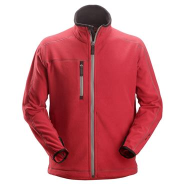 Snickers 8012 A.I.S Fleece Jacket - Chili Red