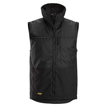 Snickers 4548 AllroundWork Winter Vest - Black