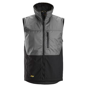 Snickers 4548 AllroundWork Winter Vest - Grey/Black