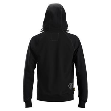 Snickers 2888 AllroundWork Logo Full Zip Hoodie - Black