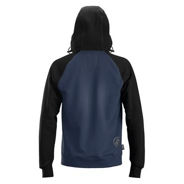 Snickers 2888 AllroundWork Logo Full Zip Hoodie - Navy/Black