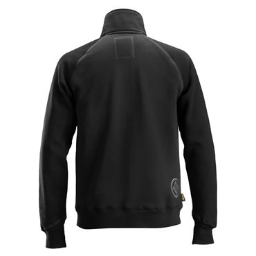 Snickers 2887 Logo Full Zip Jacket - Black