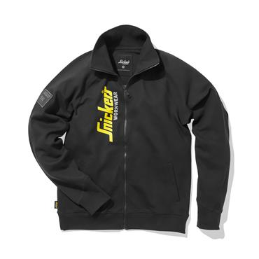 Snickers 2836 Full Zip Sweatshirt Jacket - Black